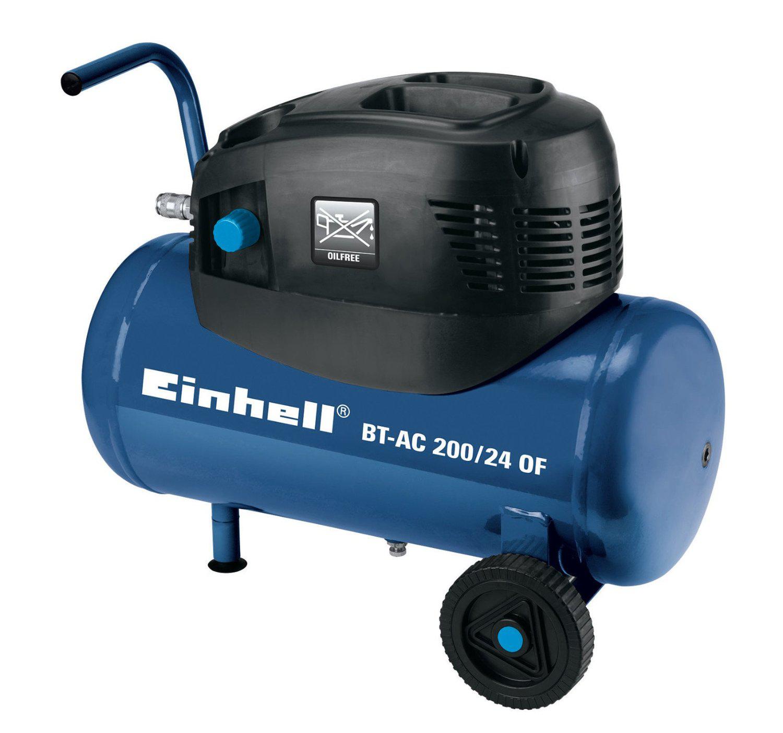Compresseur sans huile : Einhell 4020505 Compresseur BT-AC 200/24 OF