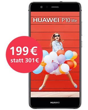 """Smartphone 5.2"""" Huawei P10 Lite - Kirin 658, 4 Go de RAM, 32 Go (Frontaliers Allemagne)"""