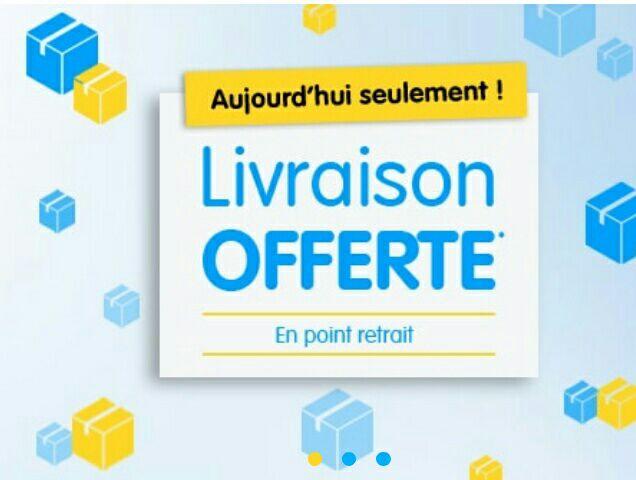 3€ de réduction sans minimum d'achat  + Livraison offerte en point retrait sur tout le site