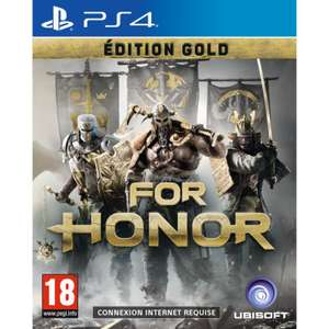 For Honor Edition Gold sur PS4 (via l'application)