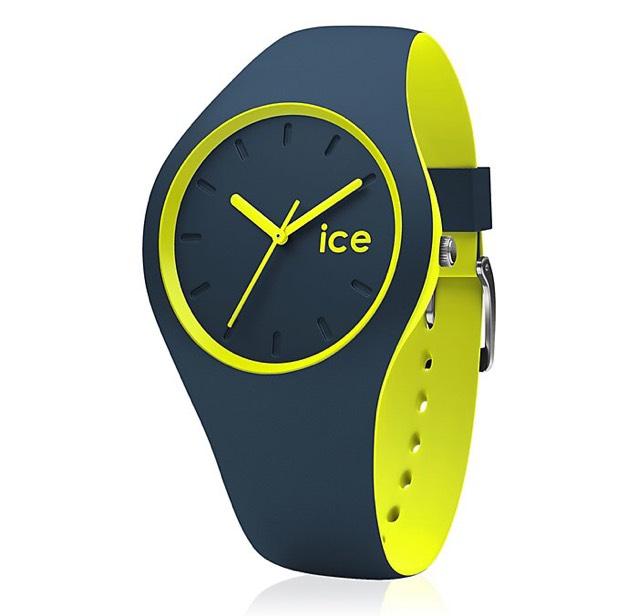 Sélection de montres Ice Watch en promotion - Ex : Ice Duo - Silicone bleu pétrole - 38 mm