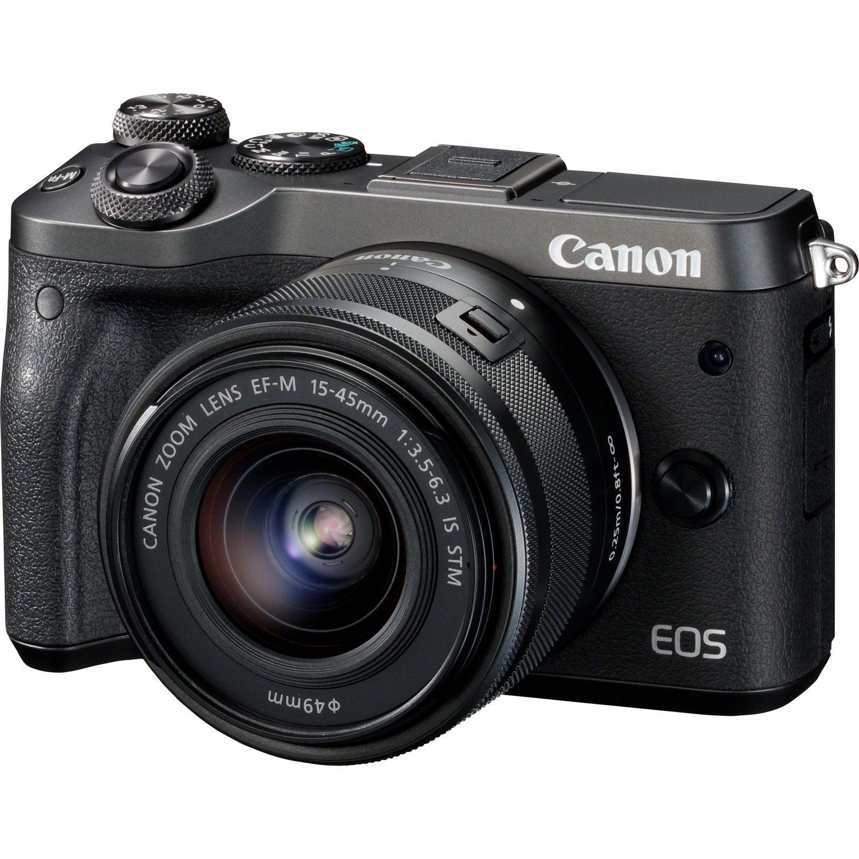 Sélection de packs appareil photo hybride Canon - Ex : EOS M3 + Objectif 15-45 mm + Accessoires (+ ODR de 70€)
