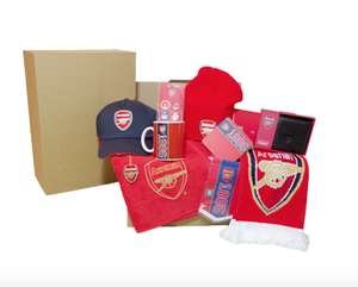 Livraison gratuite pour l'achat de 2 boîtes cadeau Arsenal