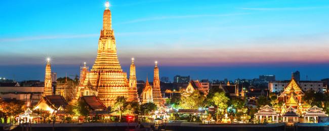 Vol A/R Mulhouse <-> Bangkok (BKK - Thaïlande) à effectuer entre Mai et Juillet 2018