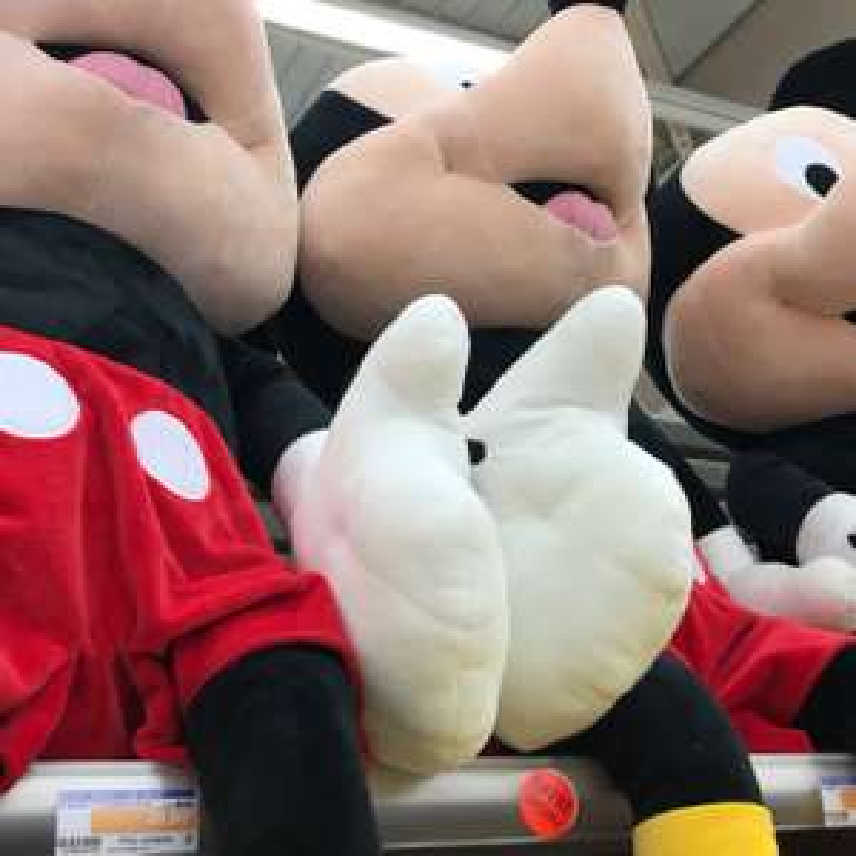Peluche Mickey géante - 120 cm - Enval (63)