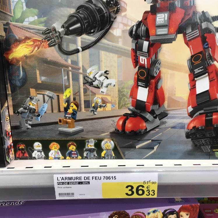 30% de réduction sur une sélection Lego - Ex : Ninjago 70615 - L'armure de feu - Plougastel-Daoulas (29)
