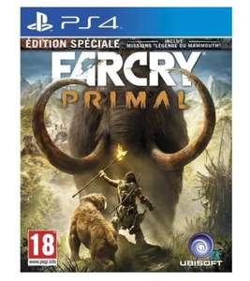 Far Cry Primal Edition Spéciale sur PS4