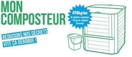 Distribution gratuite de composteurs - Bruges / Bordeaux Métropole (33)