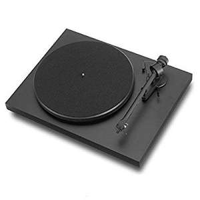 Platine vinyle Pro-ject Debut 3 - Noir mat + Cellule Ortofon OM-419 5E