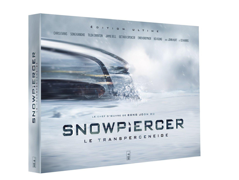 Coffret Blu-ray / DVD Snowpiercer, le Transperceneige  Edition Ultime