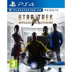 Jeu Star Trek Bridge Crew sur PS4 (VR)