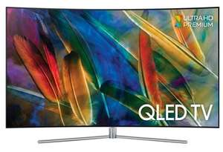 "TV 49"" Samsung QE49Q7CAM - QLED, 4K UHD, incurvée (Frontaliers Belgique)"