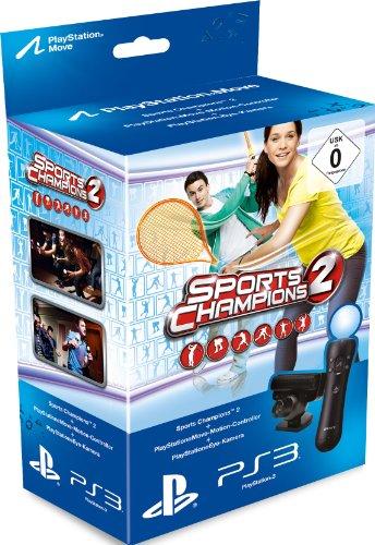Sports Champions 2 + PS Move PS3/PS4+ Caméra PS3 (Import Allemand) - Vendeur tiers