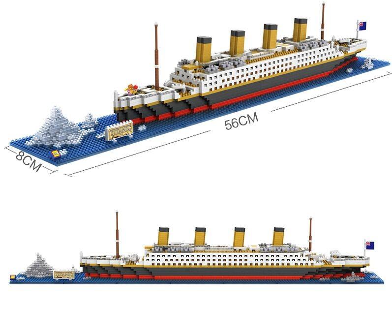 Jeu de construction Loz Creator RMS Titanic (9389) - 1860 pièces
