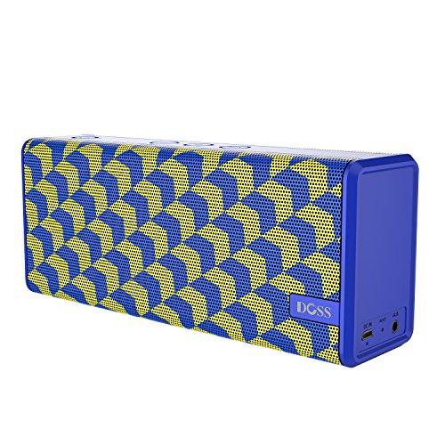 Enceinte Bluetooth Doss - bleu / jaune ou camouflage vert (vendeur tiers)