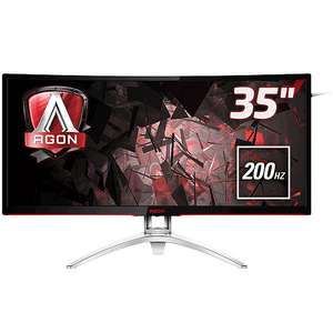 "[Étudiants] Écran PC 35"" AOC Agon AG352QCX - full HD, 1920x1080, 4 ms"