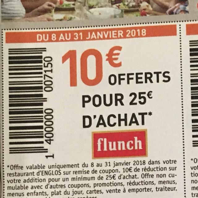 10€ de réduction dès 25€ d'achat (non-cumulable) - Englos (59)