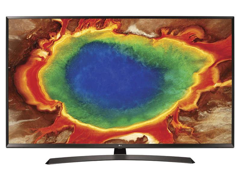 "TV 60"" LG 60UJ634V - 4K UHD, HDR, 100 Hz (TruMotion), Smart TV (via ODR de 100€)"