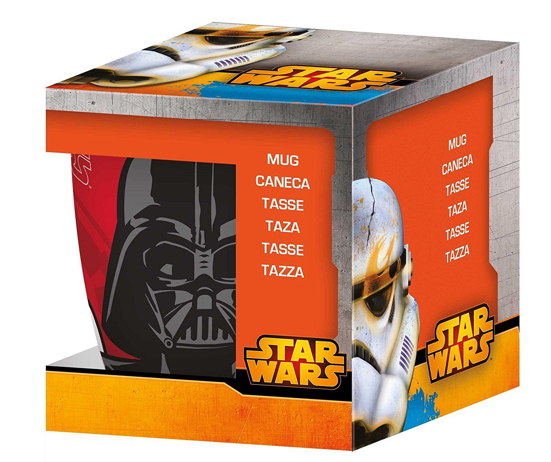 [Panier plus] Mug porcelaine Star Wars : Dark Vador - 33cl