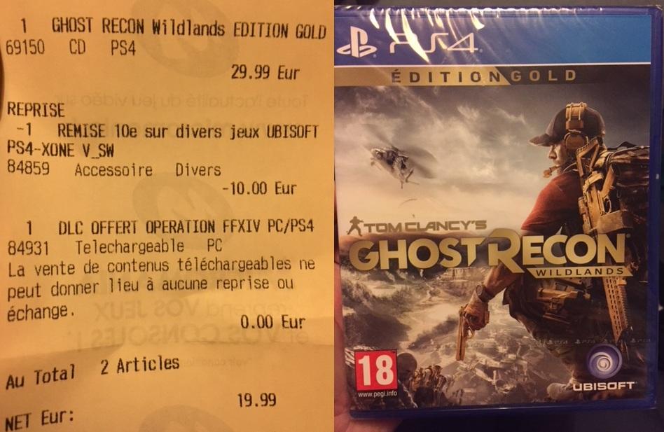 Ghost Recon Wildlands Edition Gold (Season Pass inclus) sur PS4 - Aubervilliers (75)