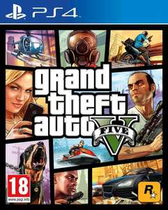 Jeu Grand Theft Auto V (GTA 5) sur PS4