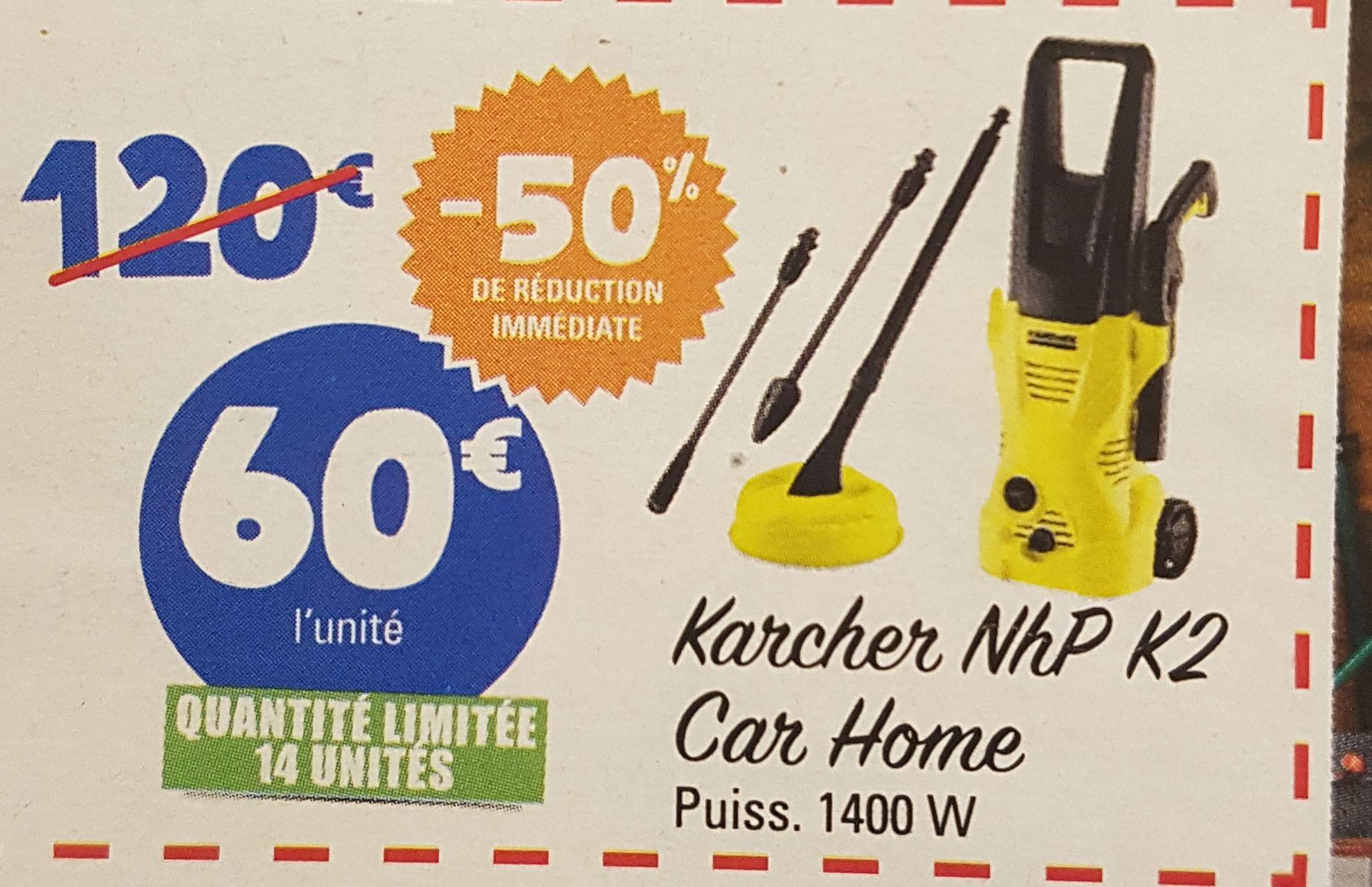 Nettoyeur Haute Pressions Karcher NhP K2 car and home - Seclin (59)