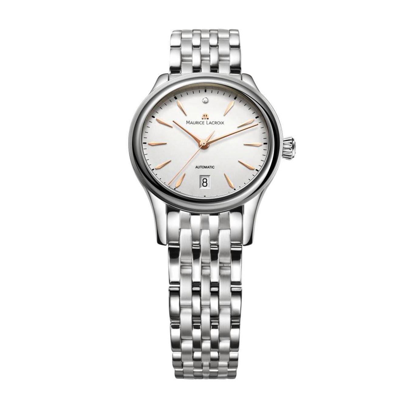 Sélection de montres swiss made en promotion - Ex: Montre Femme Automatique Maurice Lacroix