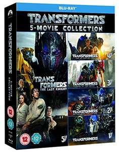 Coffret Transformers: 5-Movie Collection (Blu-Ray + Bonus Disc )