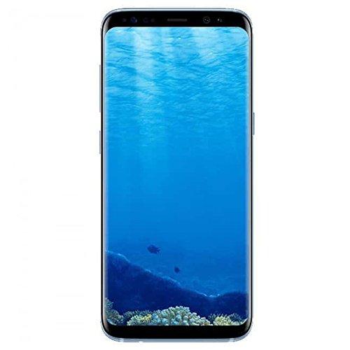 """Smartphone 5.8"""" Samsung Galaxy S8 Coral Blue - 64Go, 4Go de Ram (Via ODR 100€)"""