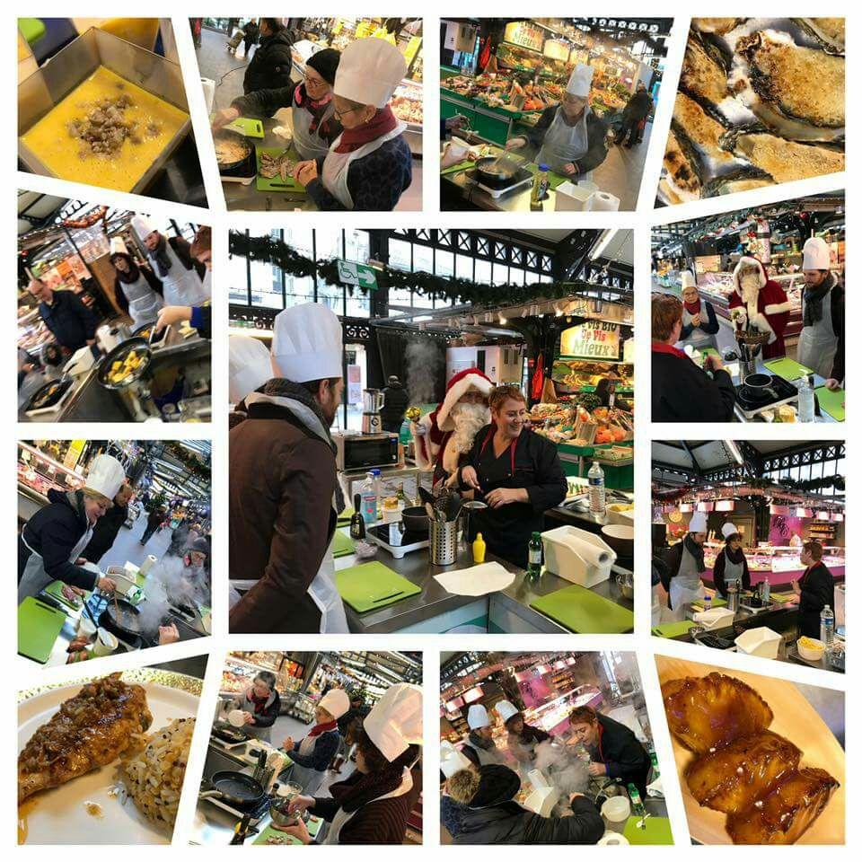 [16 h 30 à 18 h 30] Cours de Cuisine Gratuit le Vendredi 12 janvier 2018  - Cuisines du Monde Marché Saint Quentin à Paris (75)