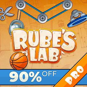 Rube's Lab PRO Physique Puzzle sur Android