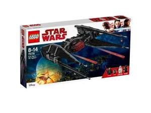 Jeu de Construction Lego Star Wars 75179 - Kylo Ren's TIE Fighter