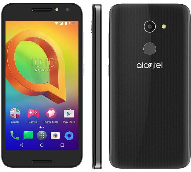 "Smartphone 5"" Alcatel A3 Dual SIM (Coloris au choix) - IPS HD, Quad-core 1.26GHz  RAM 1.5Go, 16Go, 2460mAh, Android 6.0 (Via ODR 40€)"