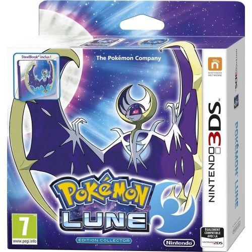 Jeu Pokémon Lune - Edition fan avec Steelbook sur Nintendo 3DS
