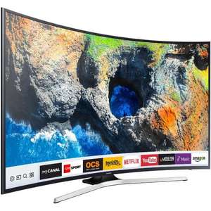 "TV LED Incurvée 55"" Samsung UE55MU6292 - UHD 4K, HDR, Smart TV"