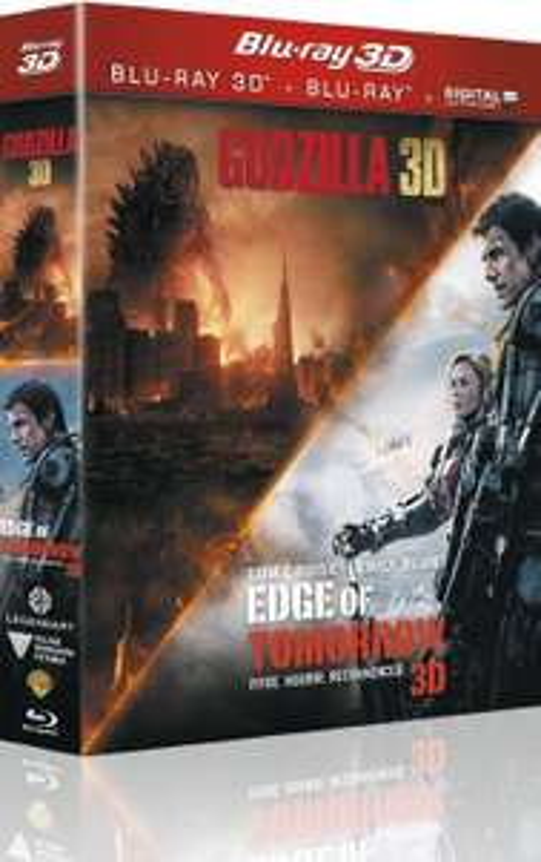 Sélection de blu-rays soldés à 4€ - Ex : Coffret Edge of tomorrow + Godzilla Blu-ray 3D