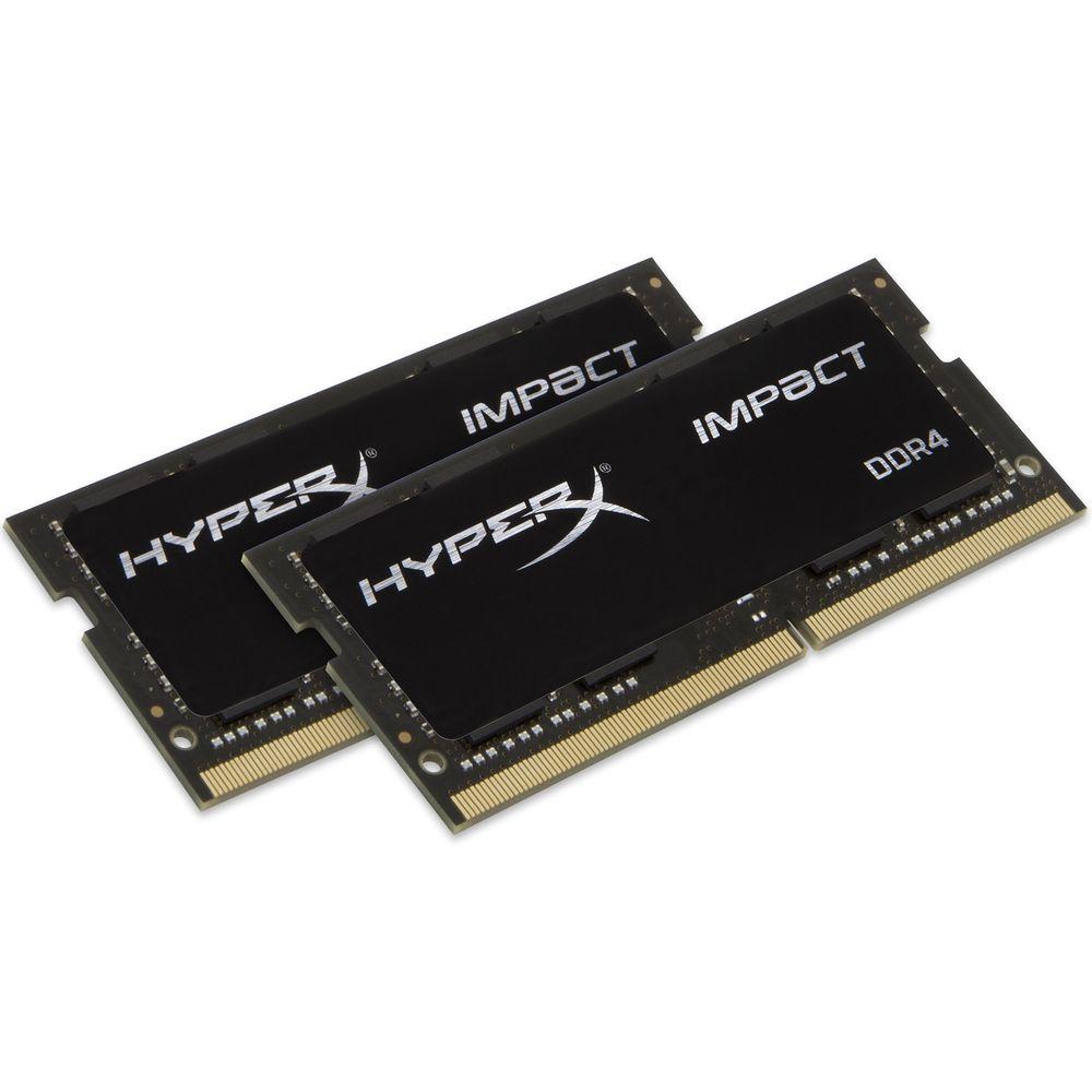 Barrettes de ram SO-DIMM DDR4 HyperX Impact 2 x 8 Go, 2666 MHz, CAS 15