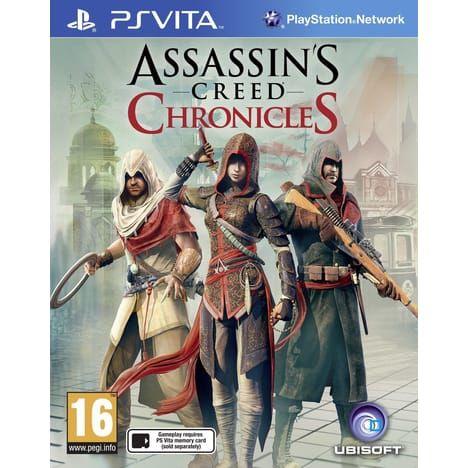 Sélection de jeux vidéo PS Vita et PS4 soldés - Ex : Assassins Creed Chronicles à 9€