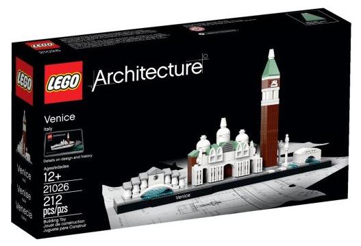 Sélection Lego - exemple Architecte Venise 21026