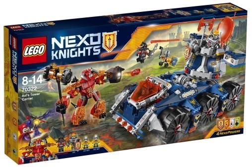 Sélection de sets LEGO en soldes - Ex : Nexo Knights 70322 à 29,44€