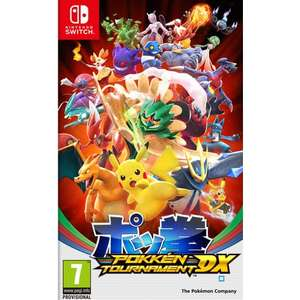 Jeu Pokken Tournament DX sur Nintendo Switch