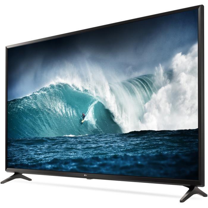 """TV 55"""" LG 55UJ630V - LED, 4K UHD, HDR, Smart TV (via ODR de 100€) - 469.99€ pour les CDAV"""