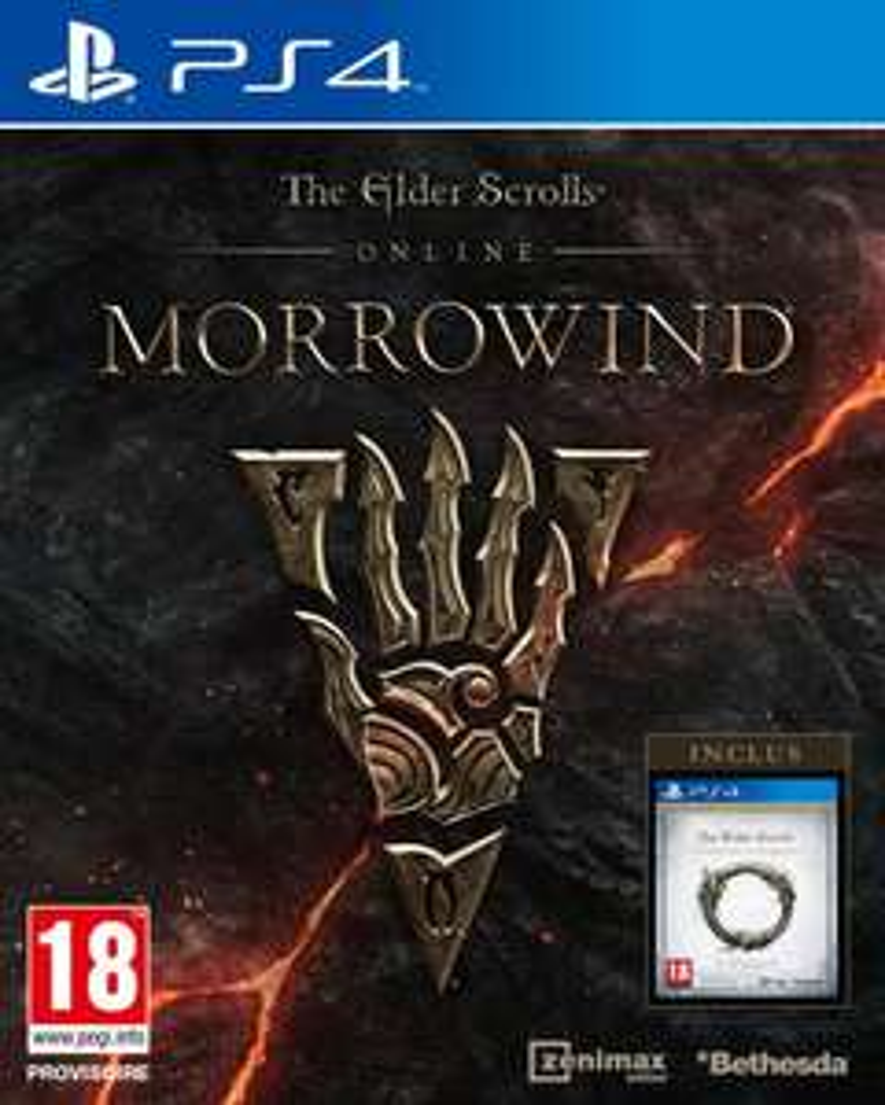 The Elder Scrolls Online : Morrowind sur PS4 à 6.49€ et sur Xbox One ou PC à 8.49€