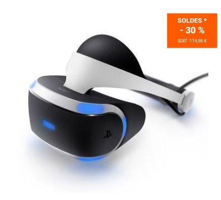 Casque PS VR pour PS4
