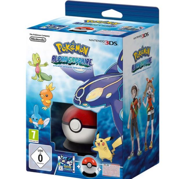 Pokémon Alpha starter Pack sur 3DS