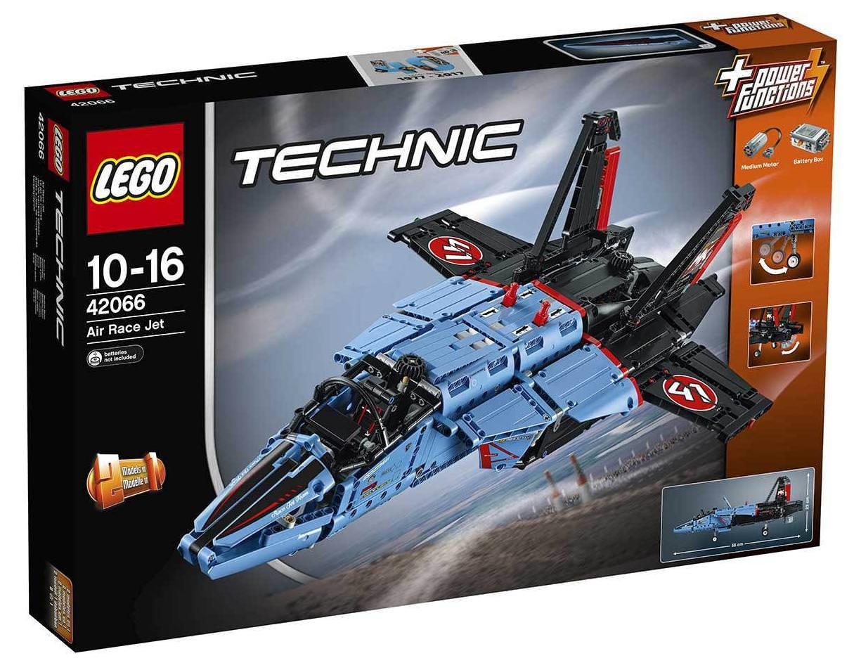 Jeu de construction Lego Technic Le Jet de Course (42066)
