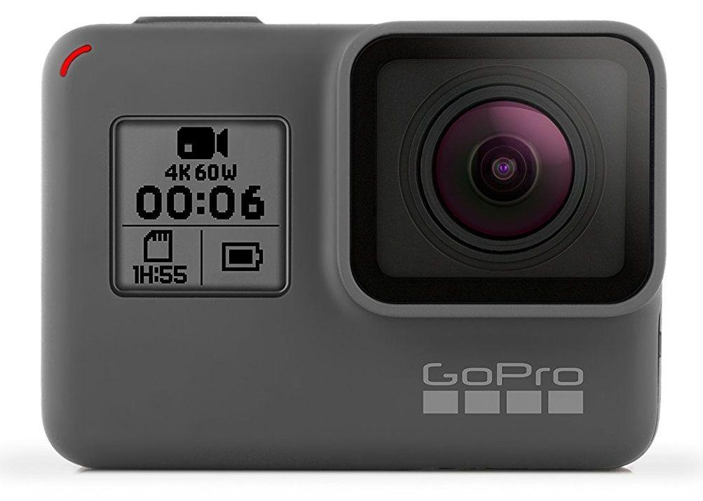 Sélection de caméras sportives GoPro en promotion - Ex : Hero 6 Black (+ 60.90€ en SuperPoints)