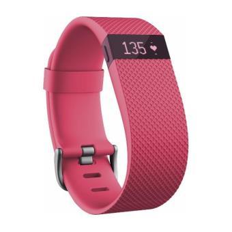 Bracelet connecté Fitbit Charge HR Taille S Rose