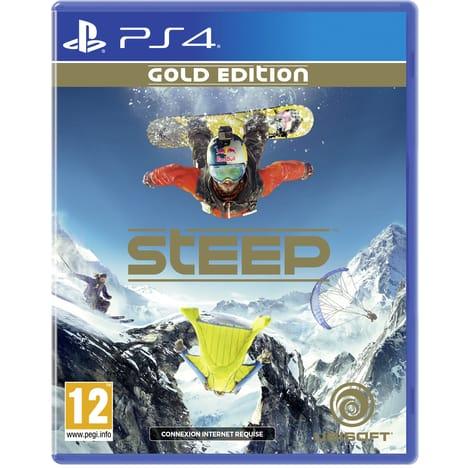 Jeu Steep sur PS4 - Gold Edition