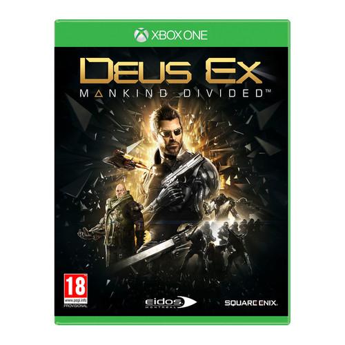 Sélection de jeux vidéo en promotion - Ex : Deus Ex : Mankind Divided sur Xbox One